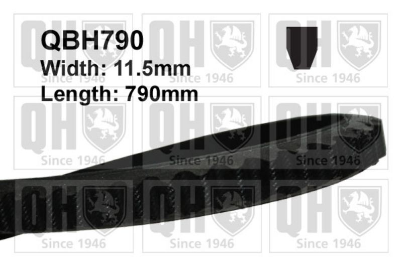 Vw Transporter 1.9 D 1.9 Td Genuine Qh Fan Belt Replacement Spare Engine Part