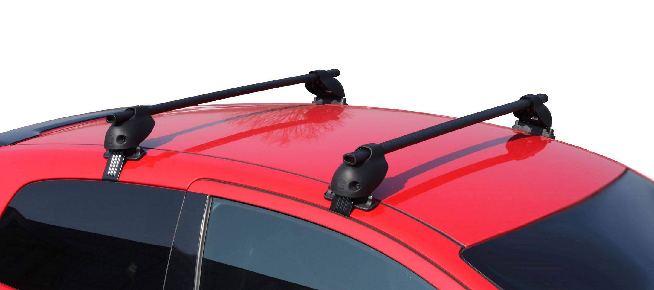 Equip Car Roof Bar Loading Rails Carrier For Renault Laguna Skoda Toyota Avensis