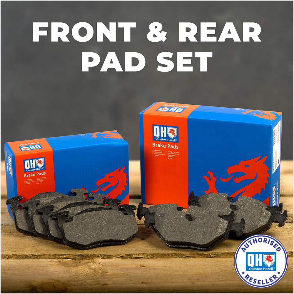 REAR BRAKE PADS FITS SET KIT FORD GALAXY