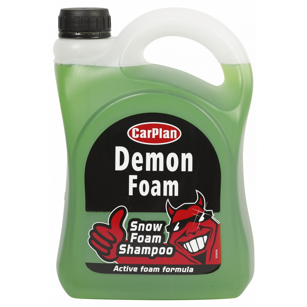 carplan demon snow foam car shampoo 2 litre refill ebay. Black Bedroom Furniture Sets. Home Design Ideas